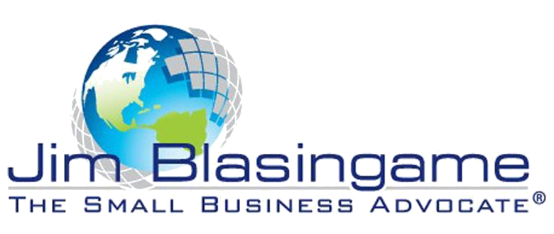Logo for Jim Blasingame- The Small Business Advocate